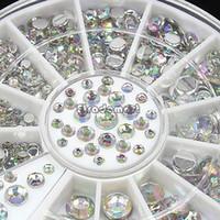 beauty health tips - 2014 New Style D Design Nail Art Tips Rhinestone Decoration Wheel Tools For Beauty Health Sizes