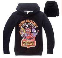 Wholesale Pick Size Autumn Hoodies Sweater Five Nights at Freddy s Children Hoodies Bear Five Nights Boy Shoodies Sweatshirts Coats Kids Clothing