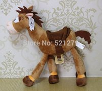Wholesale cm Toy Story Exclusive Plush Figure Bullseye red star Horse stuffed doll