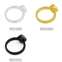 Wholesale Round mm Ring Bezel Cup Crown Cup Ring Blank Bases Brass Material