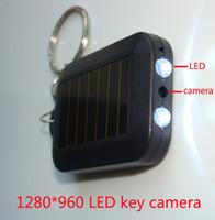 Precio de Anillo de luz led de la cámara-LED HD cámara ocultada 1280 * 960P mini dvr de la llave de múltiples funciones de la función del micr