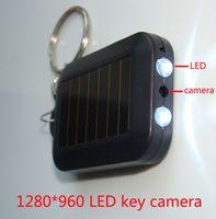 Wholesale LED HD hidden camera P key chain mini dvr Multi Function key ring portable video record micro spy light comcorders