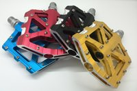 best bmx pedals - best sell CNC alloy sealed bearing cromo axle anode finish Downhill BMX big area platform bicycle pedal