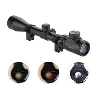 Wholesale LEAPERS UTG X40 Hunting Scope Riflescope FULL SIZE MIL DOT TACTICAL OPTICS SCOPE SCP AOMDLTS