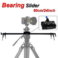 bearing track system - New Professional cm quot Bearing Video Track Slider Dolly Stabilizer System for DSLR Camera Camcorder Better Than Sliding pad