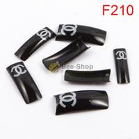 acrylic red nails - 100pcs Fashion attern red body design half cover french nail art tips acrylic half false nails art fake nail tips