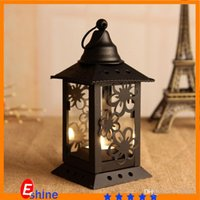 handmade candles - Candle Holders For Wedding Candlestick Garden Home Decor iron ornaments creative gift metal candlestick lanterns handmade candler
