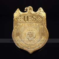 american drew quality - The United States of American Crime Investigation Department metal badge NCIS high quality metal badge mp