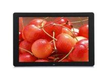 achat en gros de cadres photo numériques 15-Ew NOIR 15 pouces multifonctionnel cadre photo numérique HD / Album photo électronique avec panneau miroir Musique / Vidéo / Ebook / Time / Alarme Digital P ...
