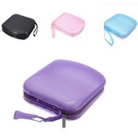 cd carrying case - 1pc CD DVD Carry Case Disc Album Storage Holder Sleeve Wallet Bag Zipper In Car
