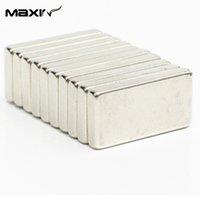 Wholesale 10pcs Strong Block Magnet x10x3mm N35 Cuboid Rare Earth Permanent Nd Fe B Magnets Maxin Neodymium Magnet Speaker order lt no track