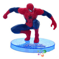amazing spiderman comics - 7Pcs Marvel Superhero Toys The Amazing Spider man Juguetes Comic Spiderman Toys Red Suit PVC Action Figures Collectible Model Toys