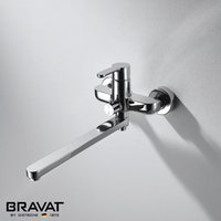 Wholesale High quality single Handle Wall Mounted Bath and Shower Mixer with Long Spout Comfortable Shower Faucet