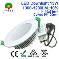 bathroom downlight kit - 13W DIMMABLE Flat LED DOWNLIGHT KIT with Au Plug WARM WHITE OR Daylight Frosted Cover Soft Lighting