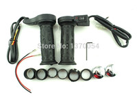 Wholesale Motorcycle quot mm Electric Hand Heated Grips Molded Grips ATV Warmers Hot Handlebar