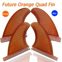 Wholesale glassfiber honeycomb future quad surf quad fins with Future template