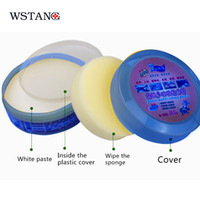 Wholesale WST Multi function universal cleaning paste strong decontamination cream leather car home kitchen computer cleaner magic cream Sponges