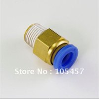 Wholesale 20pcs Pneumatic mm quot BSPT Threaded Male Connectors directly from manufacturer order lt no track