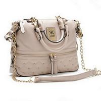 Wholesale Kim Kardashian Kollection KK Shoulder Bag Famous Brand Designer Handbags Women Rivet Fashion Bucket Gold Chain Messenger Bags