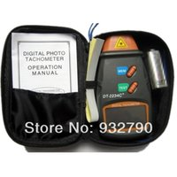 Wholesale New Digital Laser Photo Tachometer Non Contact RPM Tach Meter Tester Motor Speed Gauge Resolution RPM to RPM order lt no tra
