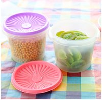 plastic food storage container - Vaccum Kitchen Storage Box Plastic Food Container Home Storage Organizers With Lid