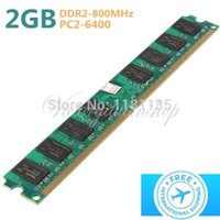 Wholesale New GB DDR2 MHz PC2 PIN Desktop Dimm Memory RAM For AMD Motherboard