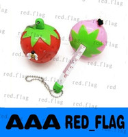 Wholesale Christmas Promotion New Novelty Strawberry Shape Tape Measure Cute Cartoon Ruler Mini Tape Measure LLY1176