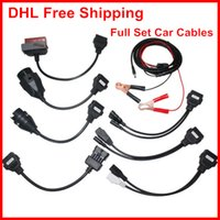 Wholesale 10 Car Cables for DS TCS CDP Pro IN Car Cables DHL Fedex