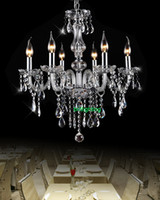 arm hotels - modern crystal chandelier dining room lights Chandelier with crystal pendants entrance hall chandelier led home glass arms chandelier