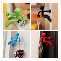 wall magnetic - Wall Climbing Boy Magnetic Key Holder Magnetic Climbing Man Key Holder Key hook