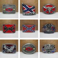 western belt buckles - American by Birth Southern Grace of God Western Belt Buckle Pride Rebel Flag USA For Men