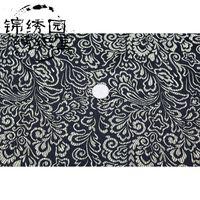 Wholesale Star flower imitation thirty five brocade fabric cloth width