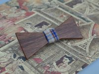 beautiful collection cottons - The Explosion Wood Tie For Womens And Mens Boys And Girls Beautiful Bow Ties Weeding Party Christmas Gift Tomodachi Collection