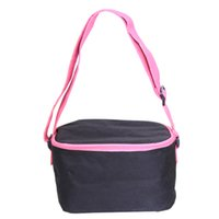 Wholesale Outdoor ice pack cooler bag picnic cooler bag takeout lunch box insulation foil insulation preservation thickest ice pack cooler bag zipper
