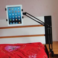 Wholesale Universal Extend Retract Desk Table Bed Tablet Mount Holder for iPad Mini quot Tablet PC MID GPS Notebook