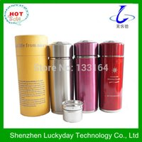 Wholesale Colorful choose stainless steel alkaline water ionizer flask for by China post