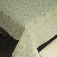 Wholesale 137 factory direct custom lace tablecloths tablecloth pvc foam household water and hot hotel discount