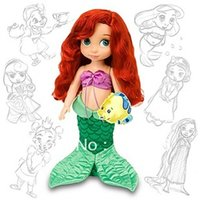 animators collection ariel - D Original box Princess Animators Collection Inch Doll Figure Ariel Style The Little Mermaid Gift