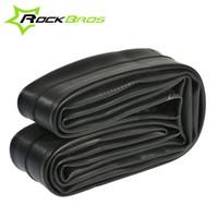 Wholesale RockBros AV FV MTB Mountain Bike Inner Tube Bicycle Tube Tire Sealant FV60mm Road Bike Inner Tire Tyre