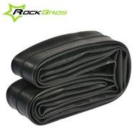 RockBros 26 * 1.95 / 2.10AV / FV VTT VTT Inner Tube de vélos Tube crevaison 700 * 18 / 25FV60mm Road Bike Tire Tyr intérieure