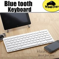 android system for tablet - Wireless bluetooth keyboard for android device apple IOS system iphone s tablet PC Ultra Slim Aluminum Keys with retailbox