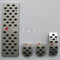 audi pedals - MT Sports Foot Pedals Rest FOR Audi A4 A4L B6 B7 B8 A5 A6 A6L C5 C6 A7 A8 Q5