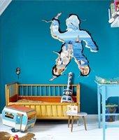 aegean art - Beautiful Fashion Styling D Aegean Sea Wall Sticker Art Decal Mural Removable Wallpaper DIY Breaking View Decor cm order lt no track