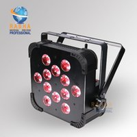 5 Channels american dj lights - HOT TINT V12 IN1 SLIM FLAT Par Profile W RGBAW colors DMX Par can american DJ Light