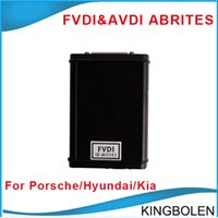 Wholesale 2015 AVDI FVDI ABRITES Commander for Porsche V5 Software USB Dongle get Hyundai Kia Tag Key Tool free software DHL