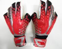Wholesale 8 size finger save goalkeeper gloves professional goalie football gloves goalkeeper Latex new boys fingersave
