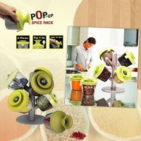 Wholesale 2015 favourite Spice Pepper Shakers cooking tools potes cans six piece suit tree seasoning sealed tank spray boxZ00274