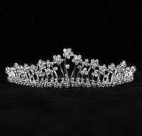 accessories fascinators - Bridal Accessories Kate Middleton Romatic Shiny Tiaras Bridal Hair Crystals Crowns Wedding Bridal Jewelry Fascinators