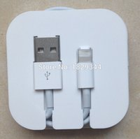Wholesale 200Pcs A Gift Plastic Pin USB Cord Cable Retail Plastic Boxes For Iphone5 s Cable Also Have Box For Iphone4 s