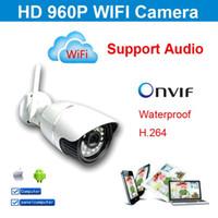 Wholesale 2015 HD webcam wireless waterproof Ip camera p wifi cctv security video capture surveillance onvif cctv Infrared IR camera